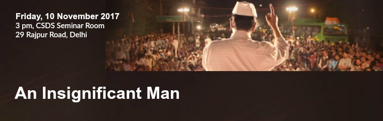 An Insignificant Man Banner