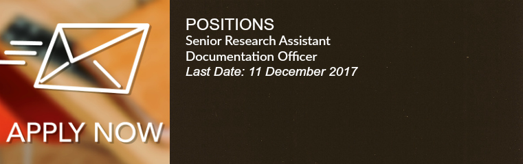 Positions for Senior Research Banner