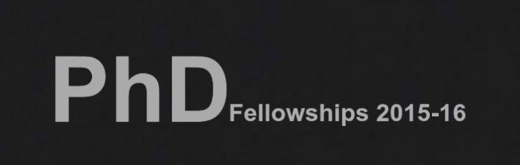 Doctoral Fellowships Banner