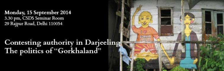 Contesting authority in Darjeeling Banner