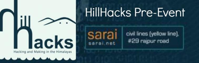 HillHacks Pre-Event Banner