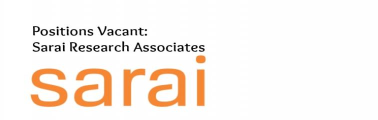 Sarai Research Associates Banner