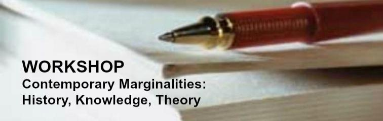 Contemporary Marginalities Banner