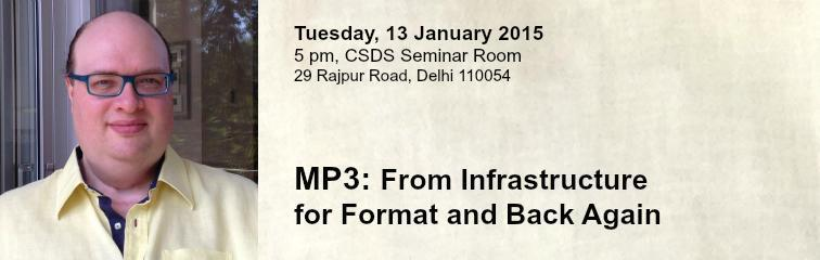 MP3: From Infrastructure for Format and Back Again Banner