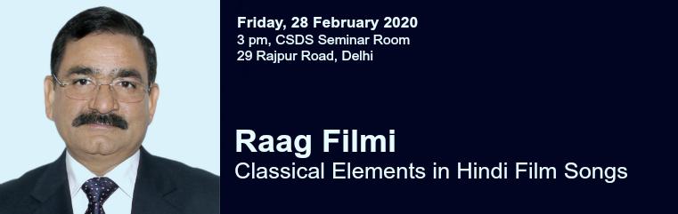 Raag Filmi: Interactive Talk by K.L.Pandey banner