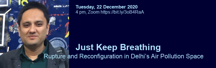 Just Keep Breathing: Lecture by Rohit Negi banner