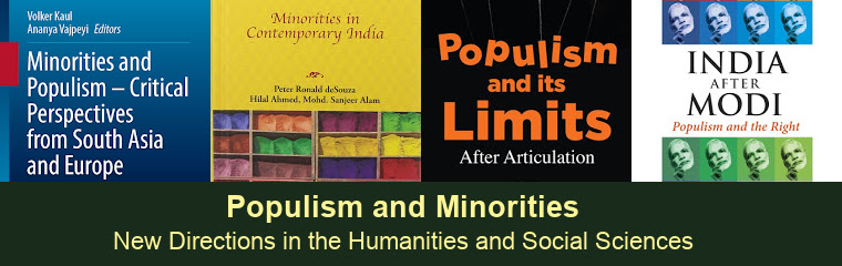 Populism and Minorities: Roundtable banner