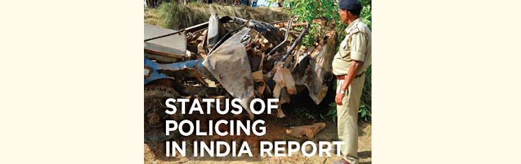 Status of Policing in India Report 2020-2021 banner
