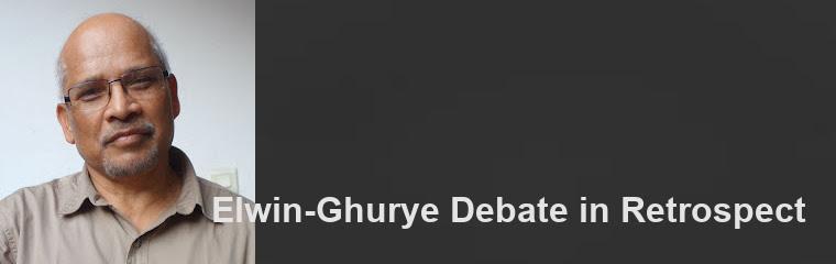 Elwin-Ghurye Debate in Retrospect: Lecture by Virginius Xaxa banner